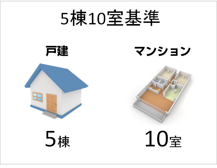 5棟10室基準