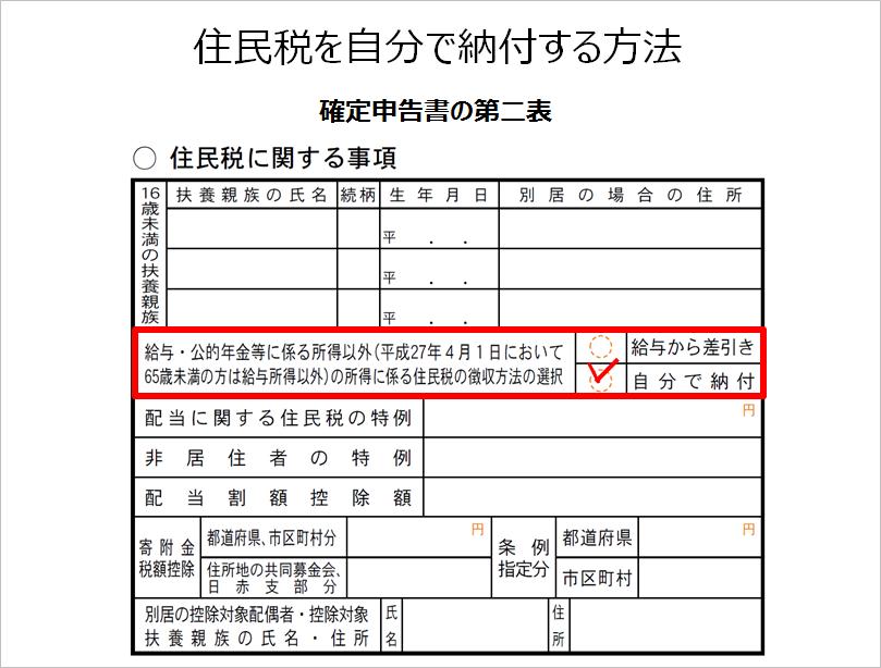 住民税普通徴収