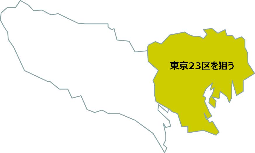 リスク_東京23区
